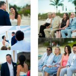 Caribbean wedding album for Corinne and Brett designed by San Diego California Destination Wedding Photographer AbounaPhoto and printed by GraphiStudio