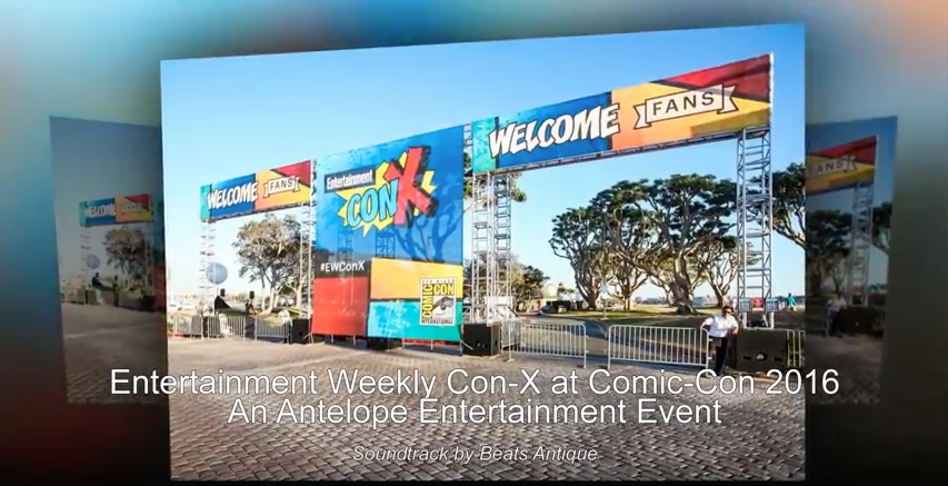 Entertainment Weekly Con X at Comic Con 2016 by Antelope Entertainment - AbounaPhoto