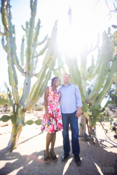 Renekia and Nick Engagement Photography Session San Diego Balboa Park by AbounaPhoto