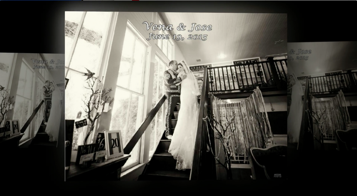 Wedding Album Design and Printing in San Diego - A book for Vena and Jose  by AbounaPhoto