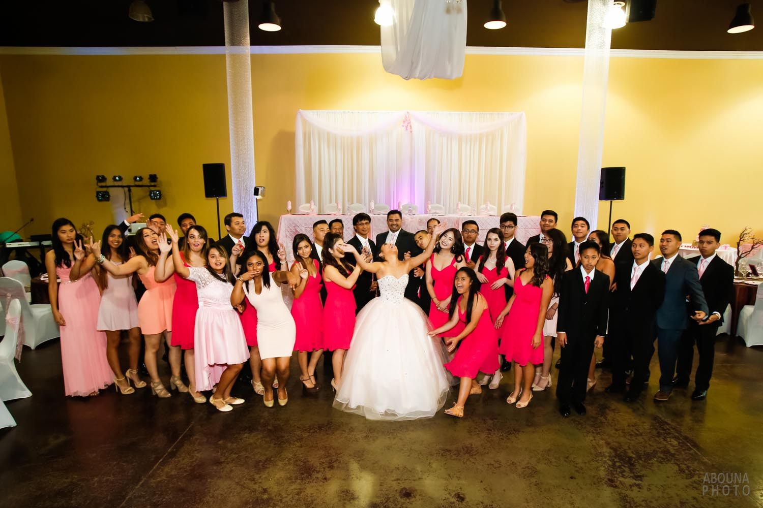 18th birthday party of a debutante