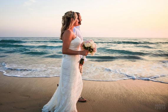 Lauren and Mack - Beach Wedding in Carlsbad California by Wedding Photographers in San Diego AbounaPhoto
