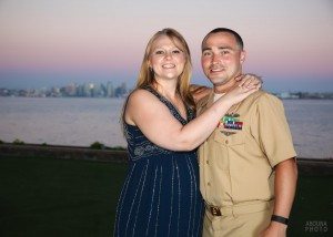 US Navy Khaki Ball Photography San Diego Bay at Admiral Kidd by AbounaPhoto