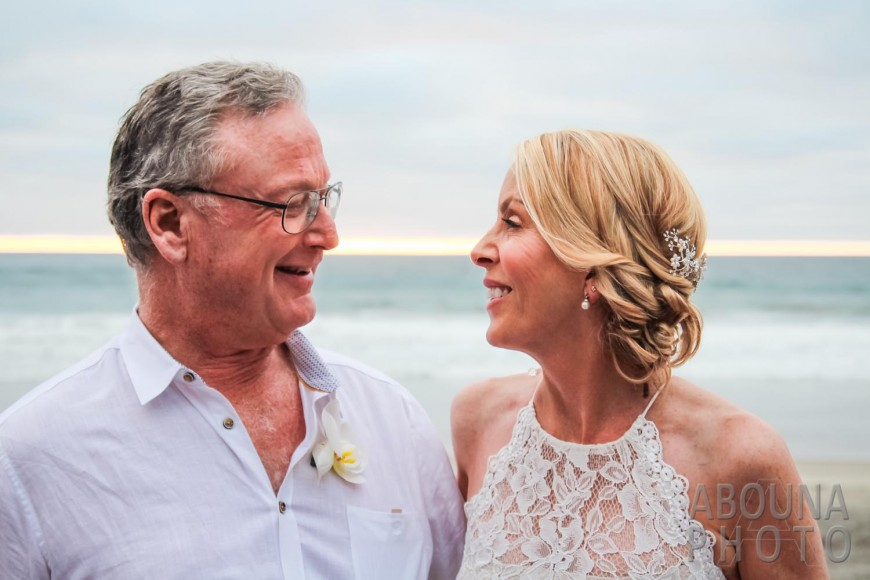Janet and AP Del Mar Beach Wedding by Wedding Photographers San Diego AbounaPhoto
