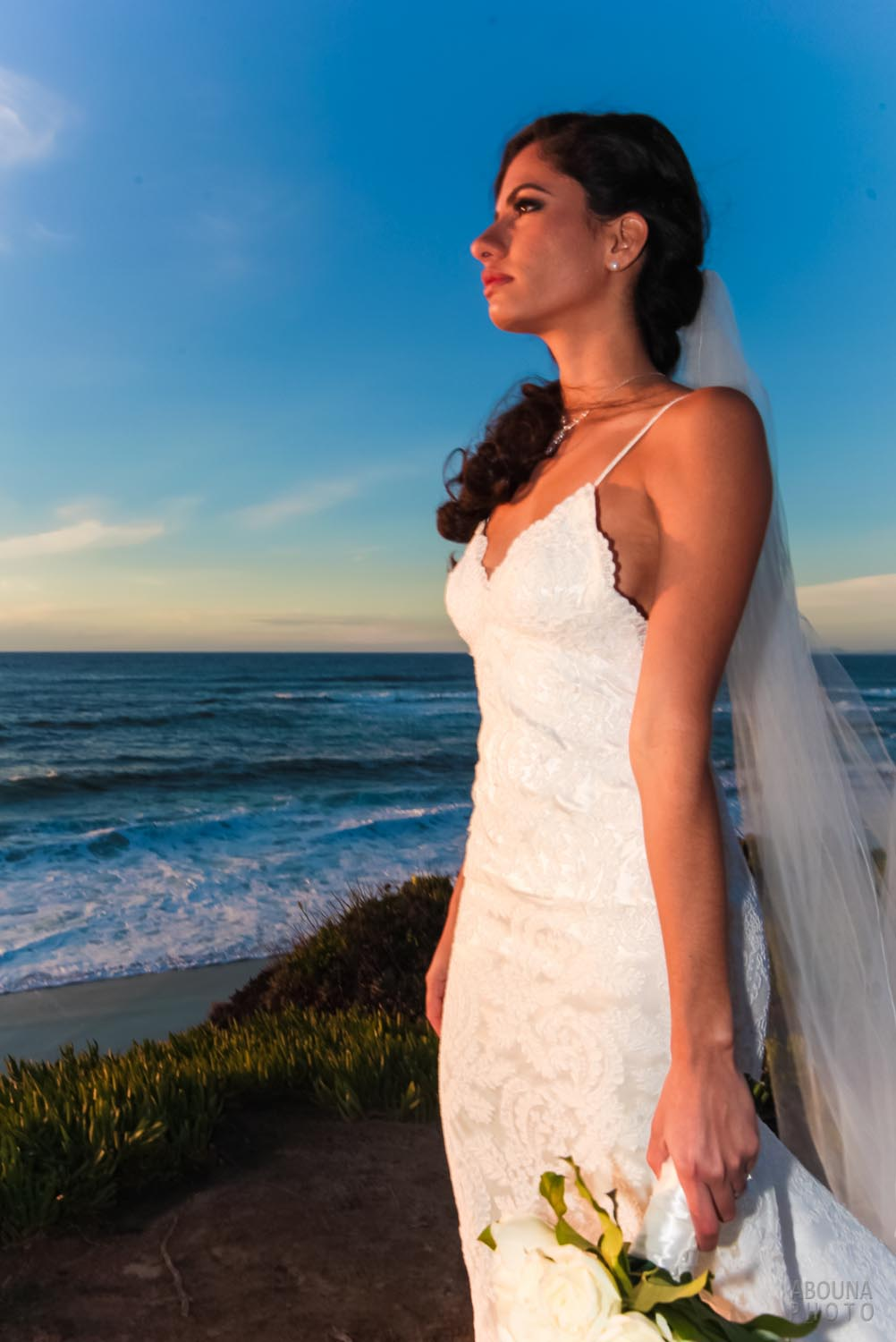 Kimberly and David - La Jolla Wedding Shoot Christmas Day by San ...