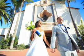 Renekia and Nick - St Therese Catholic Parish and Ocean View Wedding Photography - San Diego Wedding Photographer Andrew Abouna