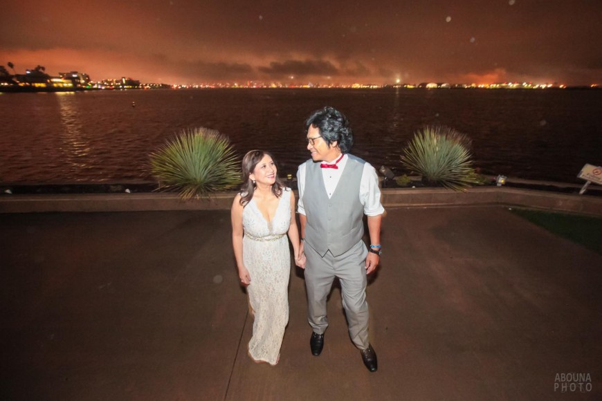 Merlyn and Rod 25th Anniversary Photography at Admiral Kidd - San Diego Event Photographer Andrew Abouna
