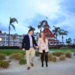 Brooke and Britt surprise engagement proposal photos Coronado Beach California by San Diego Photographer AbounaPhoto