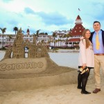 Brooke and Britt surprise engagement proposal photos Coronado Beach California by San Diego Photographer AbounaPhoto