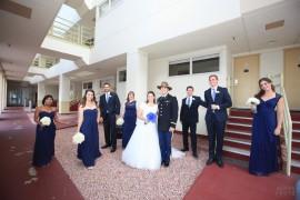 Kristin and Sean Ocean View San Diego Bay Wedding Army Uniform - Andrew Abouna Photography
