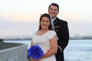 Kristin and Sean Ocean View San Diego Bay Wedding Army Uniform - Andrew Abouna Photography
