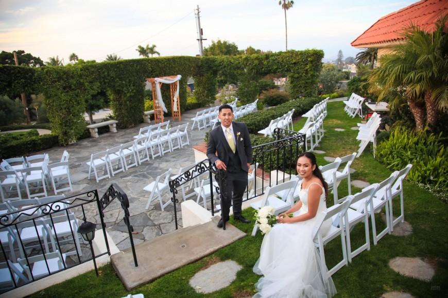 Christiane and John - Thursday Club Wedding Sunset Cliffs - San Diego Wedding Photography - AbounaPhoto