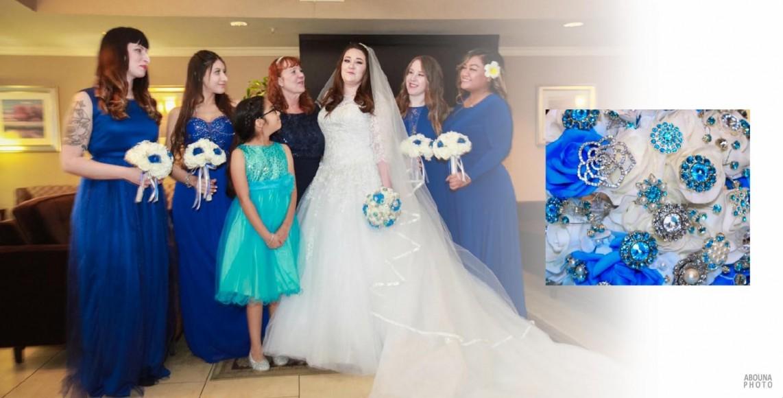 Nikki and Rudy Wedding Album Design - San Diego wedding photographer AbounaPhoto