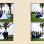 Nikki and Rudy Wedding Album Design - San Diego wedidng photographer AbounaPhoto