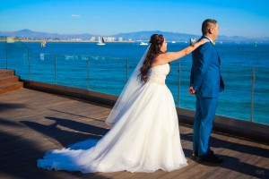 Alicia and Peter - Oceanview San Diego Bay Point Loma Wedding Photography - AbounaPhoto