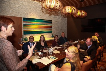 Ferguson South of France Wine Dinner - San Diego Event Photography - San Diego Marriott - AbounaPhoto