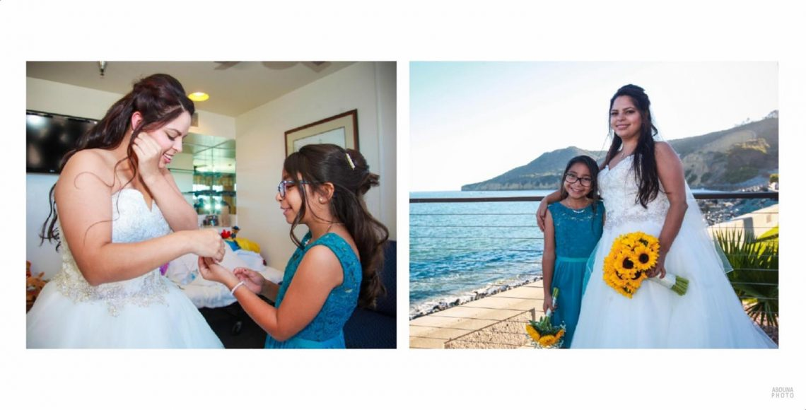 Alicia and Peter - San Diego Oceanfront Wedding Photography Album - AbounaPhoto - 002-003