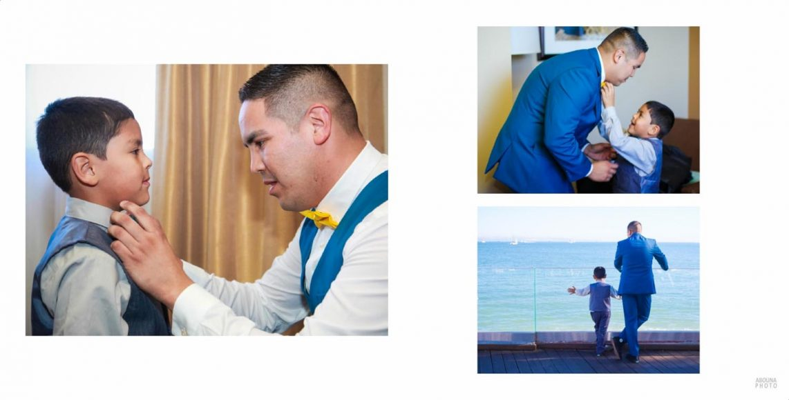 Alicia and Peter - San Diego Oceanfront Wedding Photography Album - AbounaPhoto - 004-005