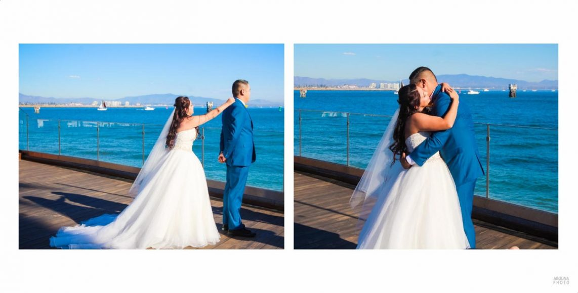 Alicia and Peter - San Diego Oceanfront Wedding Photography Album - AbounaPhoto - 006-007