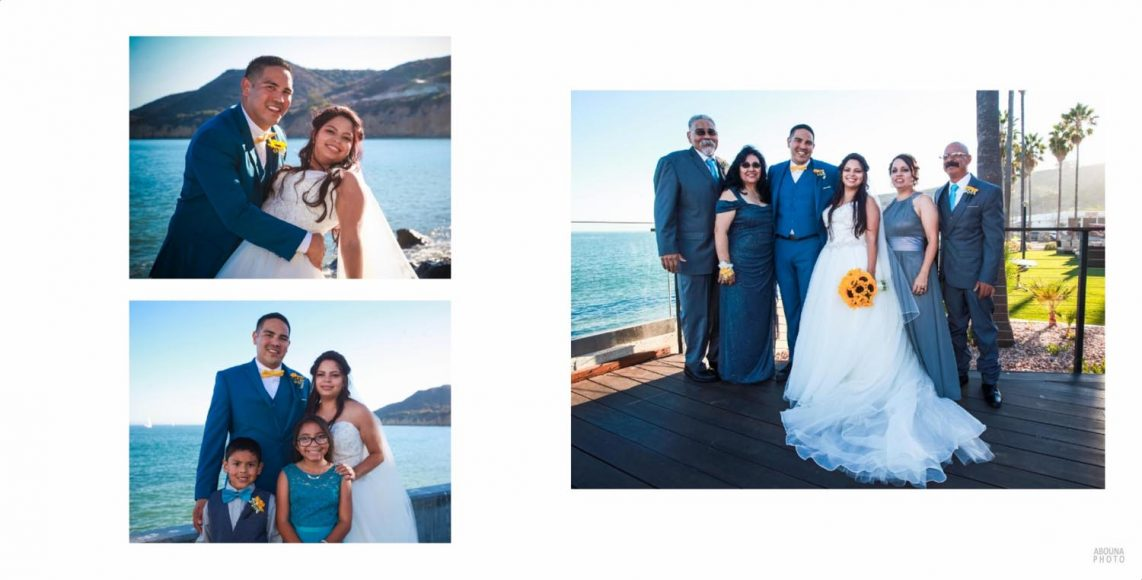 Alicia and Peter - San Diego Oceanfront Wedding Photography Album - AbounaPhoto - 010-011