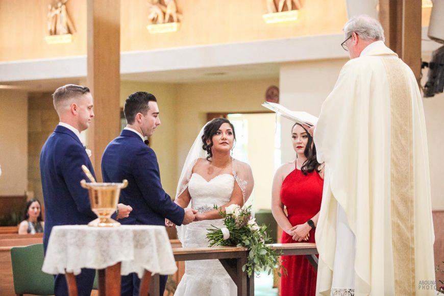 Amanda and Paul Wedding Photos - Saint Charles Catholic Church San Diego - AbonaPhoto - IMG_2794