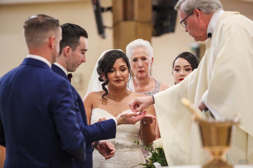 Amanda and Paul Wedding Photos - Saint Charles Catholic Church San Diego - AbonaPhoto - IMG_2822