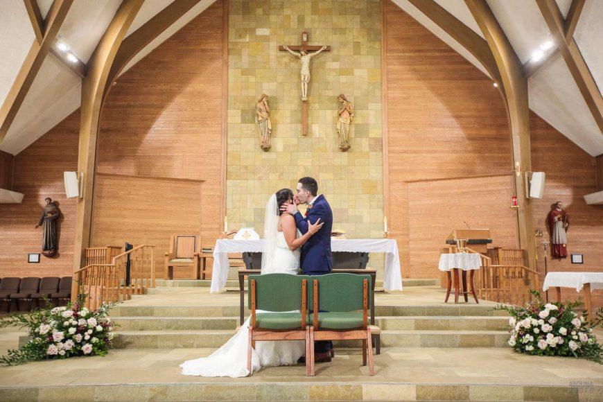 Amanda and Paul Wedding Photos - Saint Charles Catholic Church San Diego - AbonaPhoto - IMG_2968