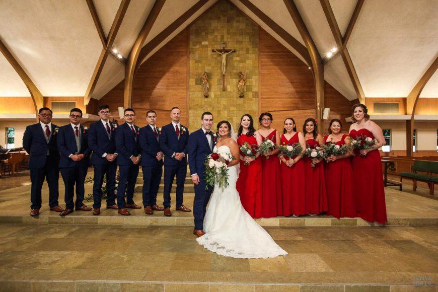 Amanda and Paul Wedding Photos - Saint Charles Catholic Church San Diego - AbonaPhoto - IMG_3040