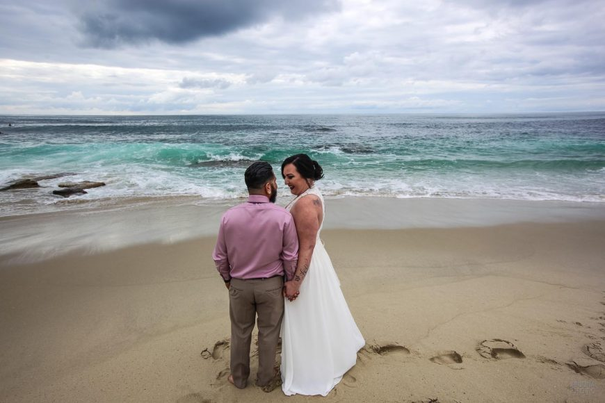 Natalia and Anthony - Wedding Photography at Windansea Beach and Tom Hams Lighthouse by AbounaPhoto San Diego -IMG_0351