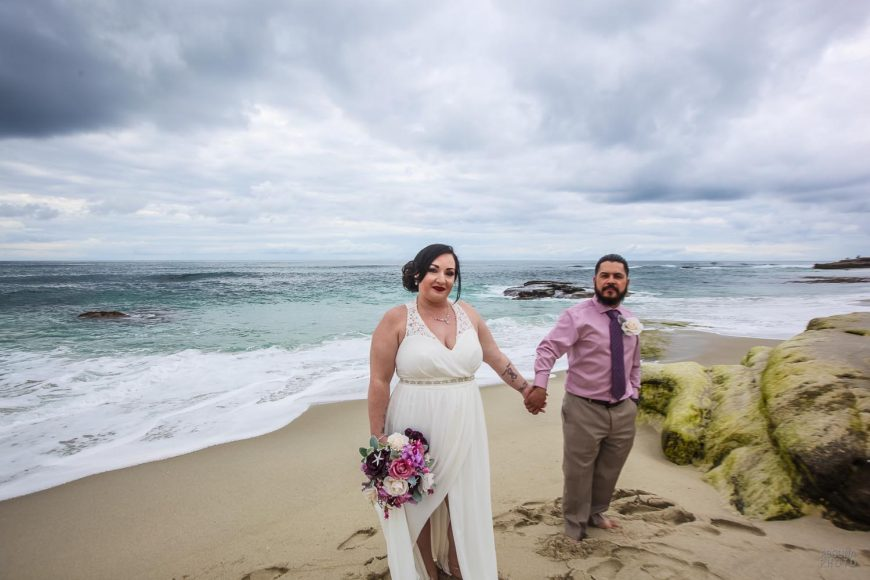 Natalia and Anthony - Wedding Photography at Windansea Beach and Tom Hams Lighthouse by AbounaPhoto San Diego -IMG_0366