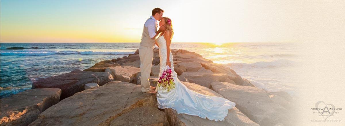 Book Design Carlsbad Beach Wedding