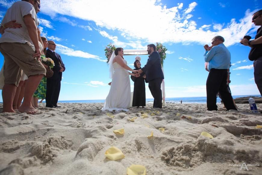 Summertime Windansea Beach Wedding Abounaphoto