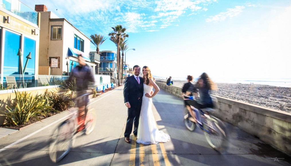 Rachel And Dan Mission Beach Wedding Photography By San Go Photographer Andrew Abouna