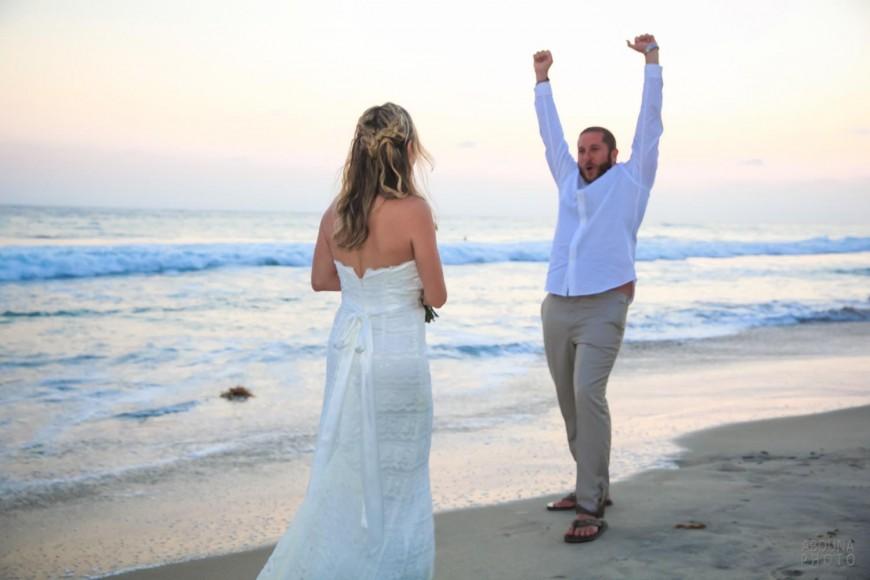 Beach Wedding In Carlsbad Ca