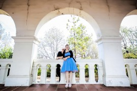 Engagement Photos in Presidio Park San Diego for Theresa and Jason