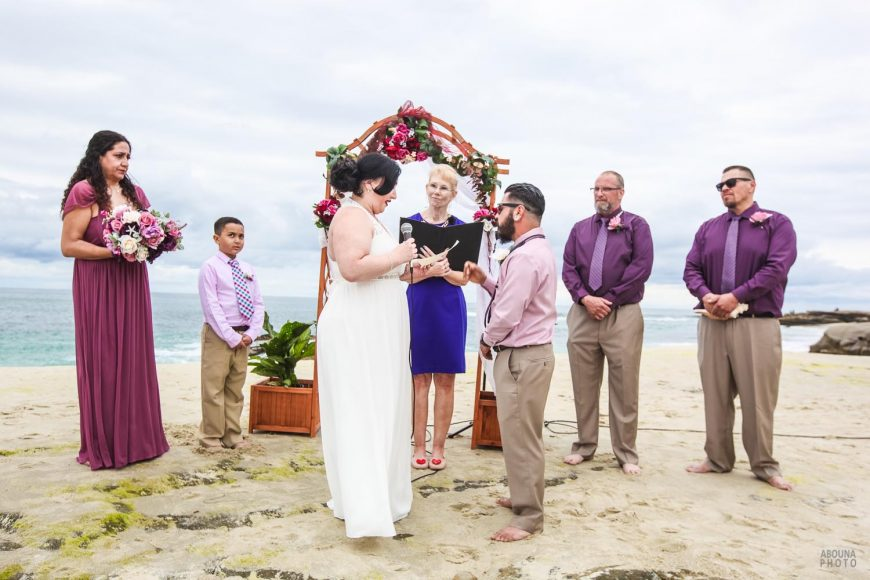 Natalia and Anthony - Wedding Photography at Windansea Beach and Tom Hams Lighthouse by AbounaPhoto San Diego -IMG_0145