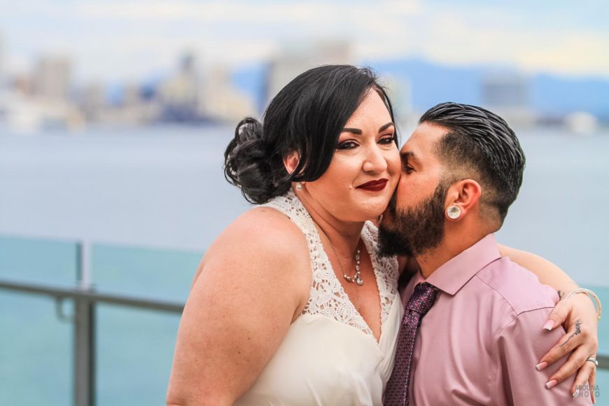 Natalia and Anthony - Wedding Photography at Windansea Beach and Tom Hams Lighthouse by AbounaPhoto San Diego -IMG_6954